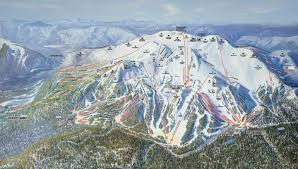 mammoth mountain ski resort trail map  mammoth lakes california