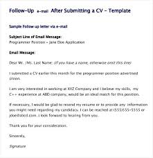 Follow Up Email Resumes Hospinoiseworksco Resume Follow Up Email