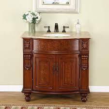 single sink traditional bathroom vanities. Delighful Traditional Silkroad Exclusive Elma Single Sink Traditional Bathroom Vanity Throughout Vanities Overstockcom