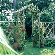 wooden garden arch trellis arched pressure treated outdoor timber roof arches cape town wooden garden