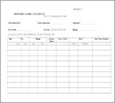 Excel Driver Log Sheet Template Driver Log Book Template Automotoread Info