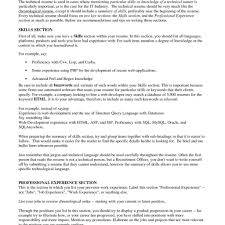 How To List Job Experience On A Resume Examples For Skills On A Resume Examples Of Job Skills To List In 12