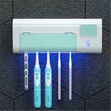 Smart UV Bàn Chải Đánh Răng Máy Tiệt Trùng Bàn Chải Đánh Răng Có Giá Để