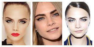 a few of the many faces of cara