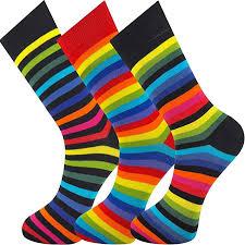 Mysocks <b>Unisex Rainbow</b> Cotton Socks: Amazon.ca: Clothing ...