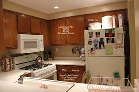 small kitchen organization