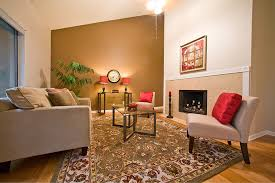 Orange Wall Paint Living Room Living Room Paint Colors Modern Red Couch Burnt Orange And Light