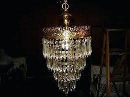 long chandelier lighting new vintage 4 tier crystal light brass decor inch for drop li