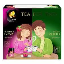 <b>Чай Curtis Tea</b> for two <b>ассорти</b>, 50 сашет — купить в интернет ...