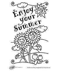 Free Summer Coloring Pages 243 For Kids