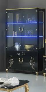 sofia italian 2 door display cabinet