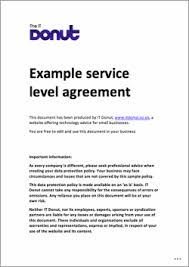 help desk service level agreement template sample service level agreement up date capture business marevinho