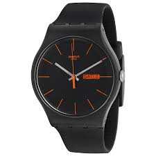 top 10 most popular best selling men s swatch watches the watch blog swatch dark rebel black silicone unisex watch suob704