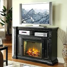 black corner fireplace tv stand black electric fireplace stand
