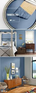 20+ Accent Wall Ideas You'll Surely Wish to Try This at Home. Blue Paint ...