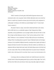 descriptive essay the end of the hallway seemed to lead to 7 pages description essay