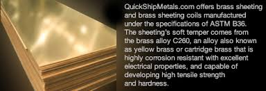 18 gauge sheet metal thickness brass 18 gauge sheet metal from quickshipmetals com