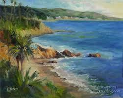 beach oil paintings 14 x 18 oil painting