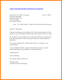 job introduction email new employee introduction letter