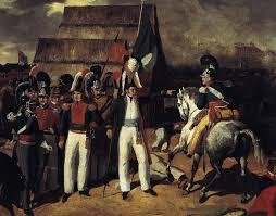 antonio lopez de santa anna on a horse.  Horse General Antonio Lopez De Santa Anna Against Isidro  Barradasu0027Spanish Troops In 1829 On De A Horse A