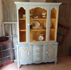 Shabby Chic Country Kitchen Kitchen Hutch French Country Painted Furniture Shabby Chic
