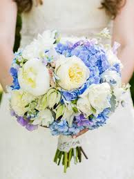 Best wedding flowers for march. The Best Blue Wedding Flowers And 16 Gorgeous Blue Bouquets