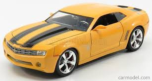 The character is a member of the autobots. Jada 99382 Scale 1 24 Chevrolet Camaro Coupe 2016 Bumblebee Transformers V L Ultimo Cavaliere Yellow Black