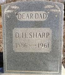 "David Harrison ""Dave"" Sharp (1886-1961) - Find A Grave Memorial"
