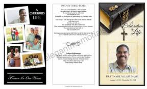 Tri Fold Samples Trifold Funeral Program Example Funeral Programs With