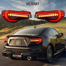 Scion Frs Led Lights Details About Led Tail Lights For Toyota 86 12 19 Subaru Brz 13 19 Scion Frs 13 16 Red