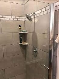 install an easy in wall shower shelf