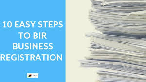 10 Easy Steps To Bir Business Registration Full Suite