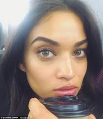 picture perfect australian model shanina shaik certainly proved she s a photographer s ultimate dream when she