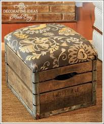 how to repurpose old wine crates