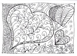 Small Picture Free Coloring Doodle Pages