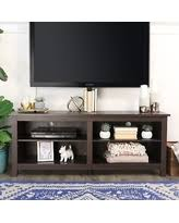 wood tv stand with mount. 58-inch espresso wood tv stand with removable mount (58\ tv