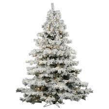 Flocked Christmas Tree A806376led 1000 White Artificial Christmas Trees Vickerman Flocked