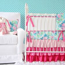 3 pink fl crib bedding sets for a girly nursery caden lane