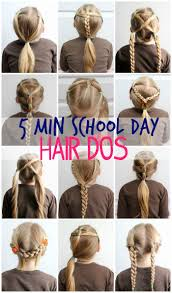 5 minute day hair styles