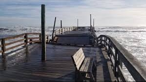Avon Fishing Pier In Outer Banks Severely Damaged Due To