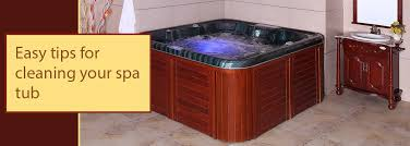 in order to enjoy the benefits of the spa tub properly and for long it is important that you keep the spa tub clean and hygienic cleaning your spa tub is
