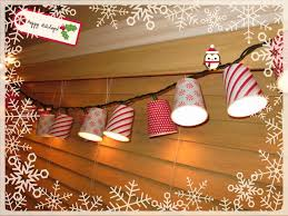 Mesh Christmas Tree Light Covers Light Covers From Dixie Cups Christmas Lights Garland