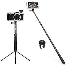 samsung tv tripod. inateck camera tripod multi-functional aluminum selfie stick, desktop stand with wireless remote for iphone 7 plus 6 6s, samsung s8 s7 edge s6, tv b