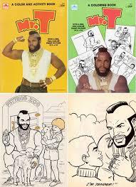 mr t coloring book