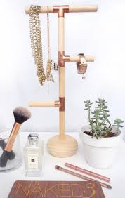 Diy Jewelry Holder Diy Jewelry Holder Display Your Jewelry On This Gorgeous Pine