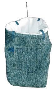blue clothespin bag