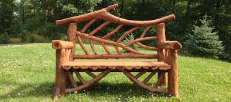 outdoor rustic garden furniture woodland structures custom built by romancing the woods