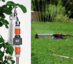 garden hose flow meter. Gardena Garden Hose Water Flow Meter L