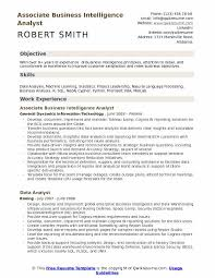 Business Resume Template New Business Intelligence Analyst Resume Samples QwikResume