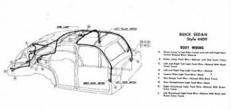 buickcar wiring diagram page  body wiring for 1946 47 buick sedan style 4409